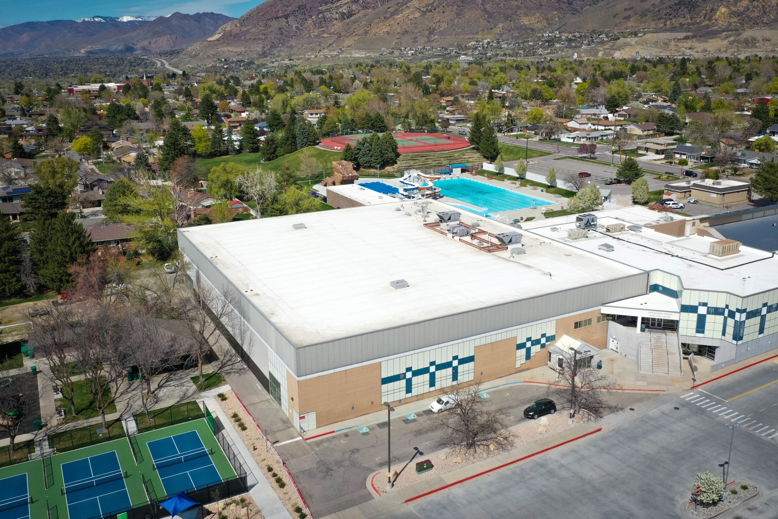 Cottonwood Heights Rec Center Roof